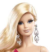 "Коллекционная кукла Барби серии ""Высокая мода"" (Barbie The Look: Pink Gown Barbie Doll) BCP86 Mattel , фото 4"