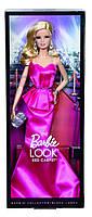 "Коллекционная кукла Барби серии ""Высокая мода"" (Barbie The Look: Pink Gown Barbie Doll) BCP86 Mattel , фото 9"