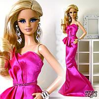 "Коллекционная кукла Барби серии ""Высокая мода"" (Barbie The Look: Pink Gown Barbie Doll) BCP86 Mattel , фото 6"
