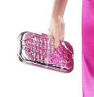 "Коллекционная кукла Барби серии ""Высокая мода"" (Barbie The Look: Pink Gown Barbie Doll) BCP86 Mattel , фото 7"