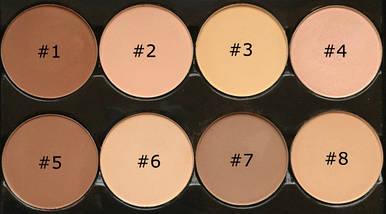 Палитра пудр для контурирования LA Colors I Heart Makeup Contour Palette, фото 3