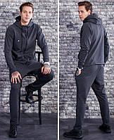Мужской серый спортивный костюм Nike. Ткань: двухнитка. Размер: с,м,л,хл,ххл.