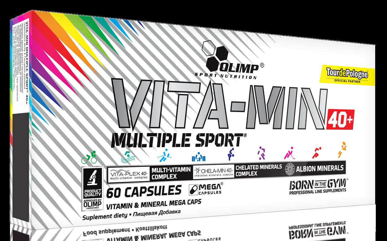 Olimp Vitamin Multiple Sport 40+ 60 caps