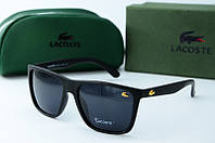 Солнцезащитные очки Lacoste черные матовые, фото 1