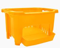 Корзинка для хранения овощей и фруктов Оранжевый