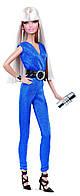 """Коллекционная кукла Барби серии """"Высокая мода"""" (Barbie The Look: Blue Jumpsuit Barbie Doll) BCP86 Mattel"""