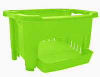 Корзинка для хранения овощей и фруктов Зеленый