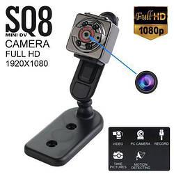 Мини камера видеорегистратор SQ8 HD 1080p Оригинал