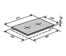 Электрическая варочная поверхность VENTOLUX HE 302 (BK) 3.1, фото 3