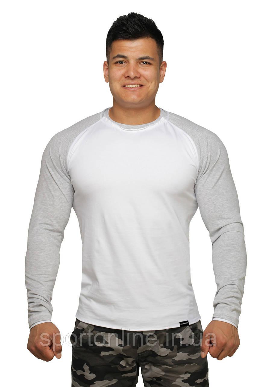 Реглан Long Sleeve BERSERK white/grey