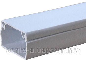 Короб пластиковый e.trunking.stand.80.60, 80х60мм, 2м