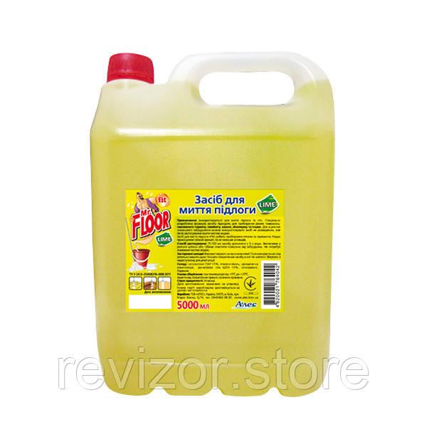 Средство для мытья пола Fit Mr Floor - Fit 5000мл