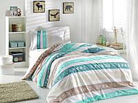 Комплект постельного белья  Hobby поплин размер полуторный Sweet Dreams мятный