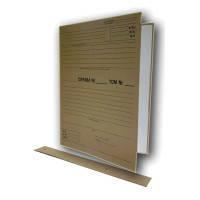 Папки-архиваторы Item 315-0/10PR 40мм 240х320 для НОТАРИУСОВ  с планками для подшки д