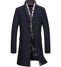 Мужское стильное пальто. Модель 61790