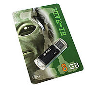 USB Flash Drive 8Gb Hi-Rali Corsair series Black / HI-8GBCORBK