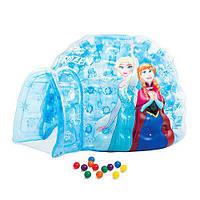 Дитячий надувний ігровий центр Intex 48670. FROZEN