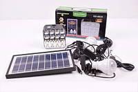 Фонарь GD-8039  на солнечной батарее