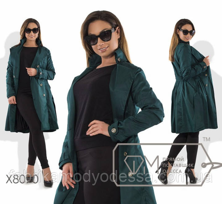 d0b7794ba35 Куртка-плащ батал от ТМ Фабрика моды прямой поставщик Одесса официальный  сайт (р.