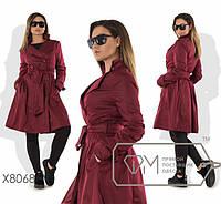 Куртка-плащ батал от ТМ Фабрика моды прямой поставщик Одесса официальный сайт (р. 48-54 )