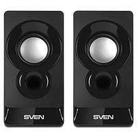 Колонки 2.0 Sven 300 Black 6W USB