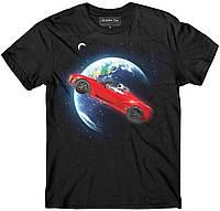 Футболка SpaceX Тесла в космосе, фото 1