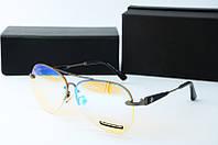 Солнцезащитные очки Mercedes голубые