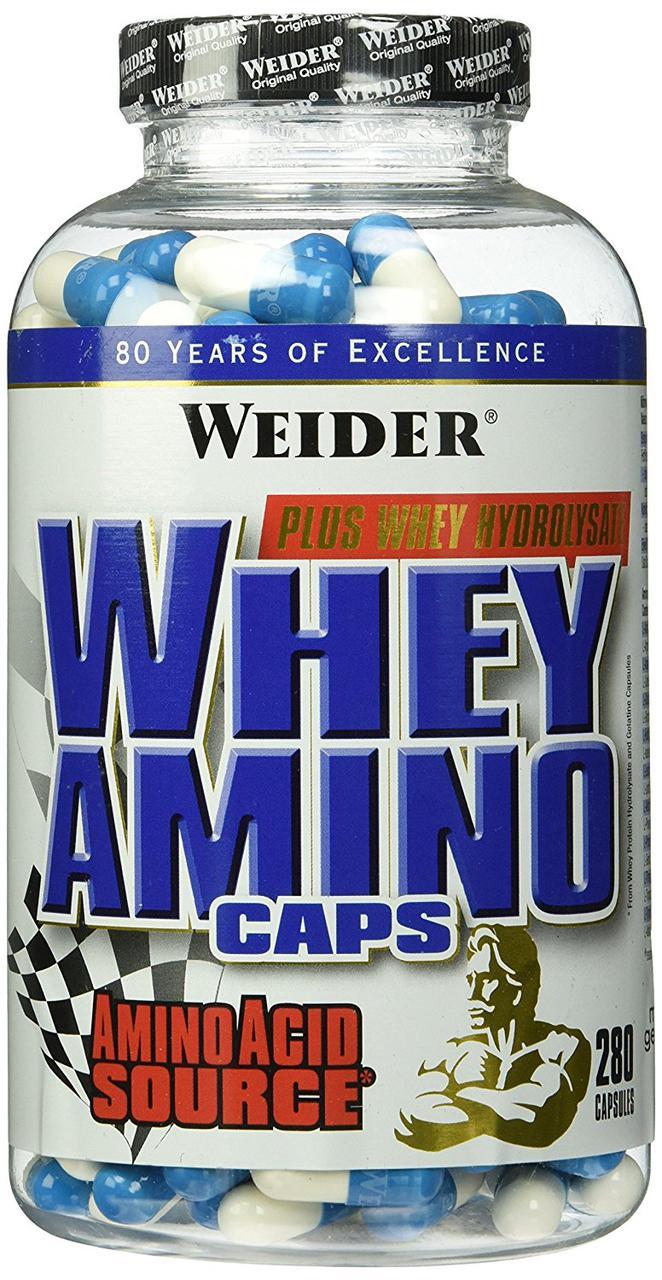 Weider Whey Amino Caps 280 caps