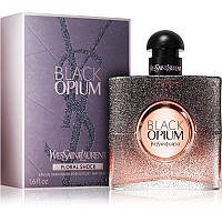 Женская парфюмированная вода Yves Saint Laurent Black Opium Floral Shock
