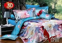 Комплект постельного белья XHY355 двуспальный (TAG polycotton-112/д)