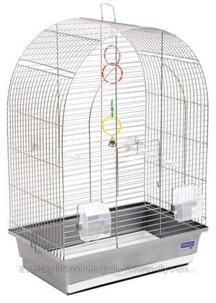 Клетка хром «Арка» для мелких и средних декоративных птиц, Природа™