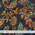 Гобелен ткань, стилизованный цветочный принт, фото 3