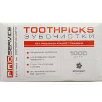 Зубные палочки PROservice 12201511 1000шт
