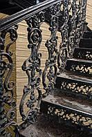 Чугунная прямоходная лестница, литье