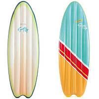 """Надувной матраc Intex """"Сёрфинг"""" 58152 EU, 2 цвета, размер 178х69см"""