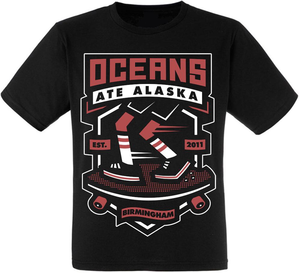 "Футболка Oceans Ate Alaska ""Cruiser"""