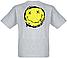 "Футболка Nirvana ""Smiley Splat"" (меланж), фото 2"
