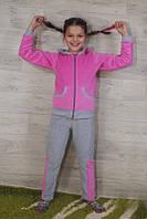 Спортивный костюм для девочки (велюр)