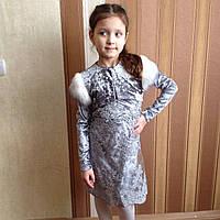 Праздничное платье для девочки, размеры: 116,122, 128, 134см., фото 1