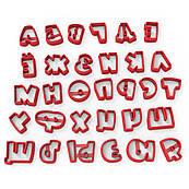 """Вырубка для мастики Алфавит шрифт """"Ну, Погоди!"""" 2,2 см (3D)"""