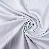 Сатин Люкс однотонный жемчужно-серый, ширина 240 см, фото 1