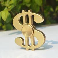 Спиннер доллар золотой