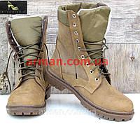 Зимние ботинки, берцы на меху, военная обувь! Натуральная кожа!