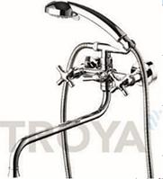 Смеситель для ванны длинный гусак TROYA JIM7-A721