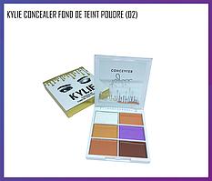 Палетка консилер Kylie Concealer Fond De Teint Poudre (02)
