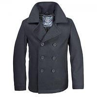 Бушлат Brandit Pea Coat (чёрный)Только 4XL.