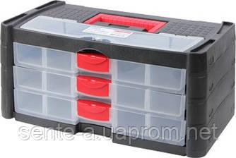 Бокс-органайзер, e.toolbox.10, 415х225х190мм