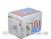 Стильна скринька ретро Америка музична 20х14х15 см, фото 1
