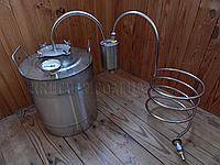 Дистилятор під непроточну воду - 17 літрів - под непроточную воду - Дистиллятор