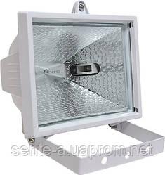 Прожектор галогенний e.halogen.500.white 500Вт, білий